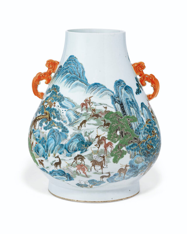 2019_NYR_16950_1104_007(a_pair_of_famille_rose_hundred_deer_hu-form_vases_19th_century)