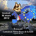 Nuit de prière pour la france et l'europe