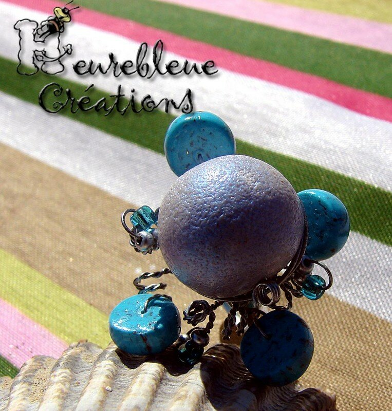 galaxie turquoise