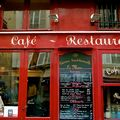 Devanture parisienne.