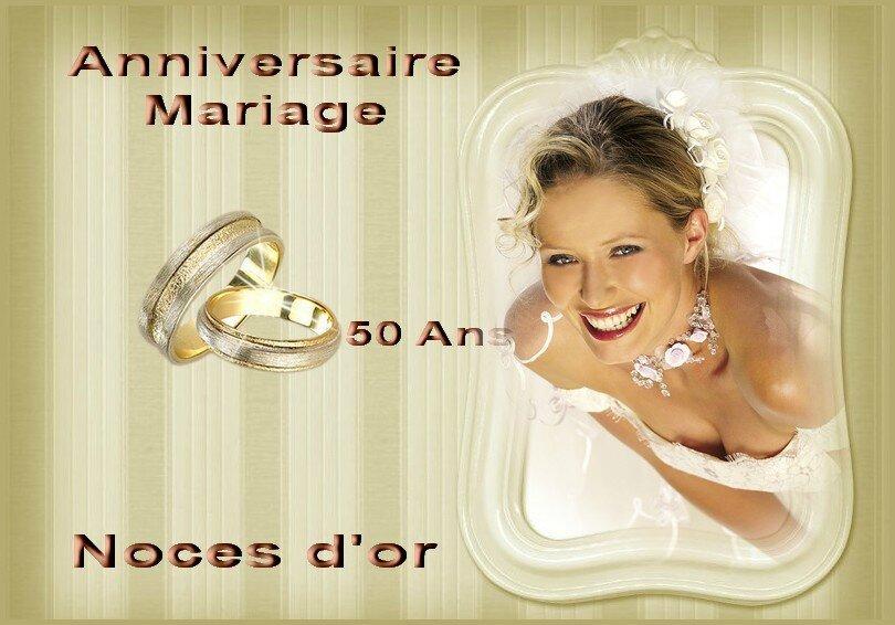 Anniversaire De Mariage 50 Ans Noces Dor Photos Leblog De