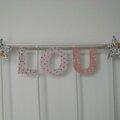 Lou et 2 étoiles