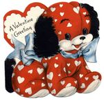 free_vintage_valentine_card_red_puppy_blue_bow