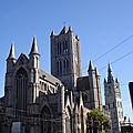 cathédrale st-bavon et église st-nicolas