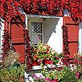 Notre séjour en pays basque, les fenêtres, les volets et les portes.