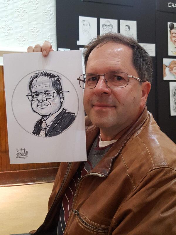 caricature infirmier à domicile cadre canada, betty caricaturiste