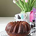 Cake aux épices et au miel
