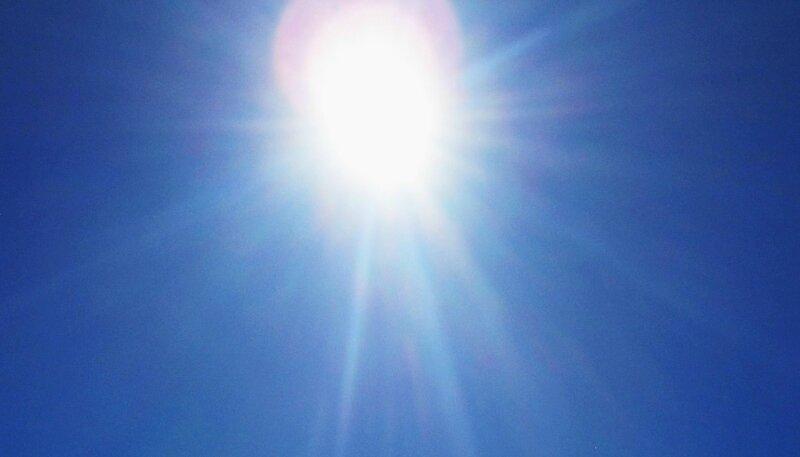 Soleil eclatant