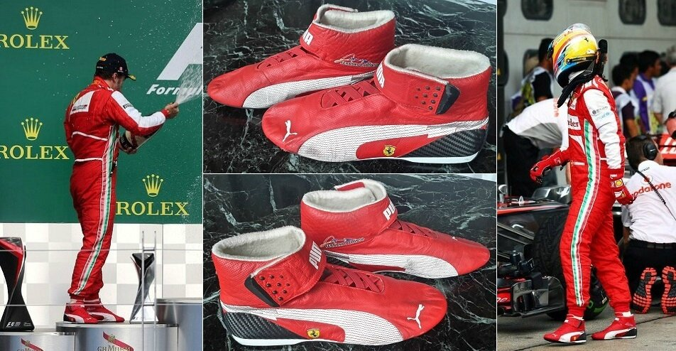 eab3f26de9913 Race shoes Puma 2012-13 Fernando Alonso Scuderia Ferrari - F1 ...