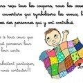 proposé par Tuto: Couverture patchwork facile à réaliser - DIY couture - le coffre de Scrat et Gloewen, couture, lecture, DIY, illustrations...