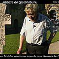 La croix du tombeau d'arthur abbaye glastonbury (1191)