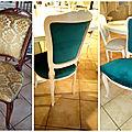 Nouvelle vie pour une chaise