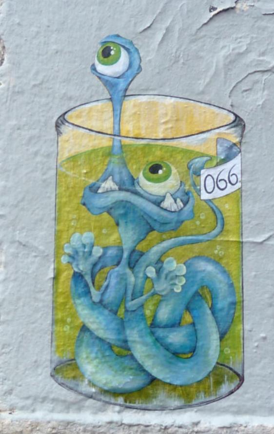 Nouveau Genre de Fresque dans Lyon !