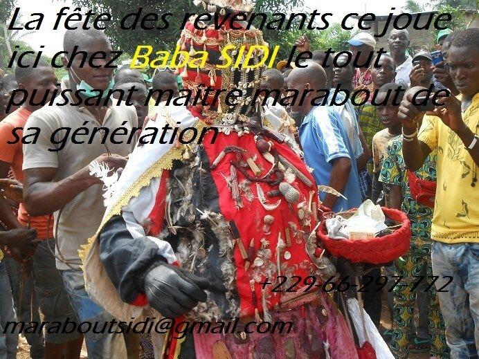 LE PLUS PUISSANT MAITRE MARABOUT DU MONDE. TOUS TRAVAUX OCCULTES: MAITRE MARABOUT AFRICAIN SIDI