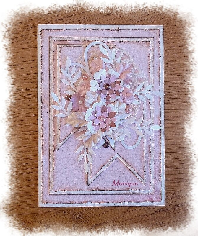 Défi Shabby carte 2 Monique