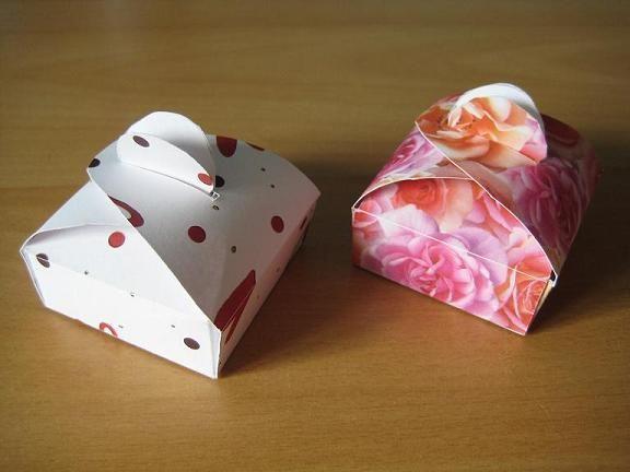 Boites en carton (petites)