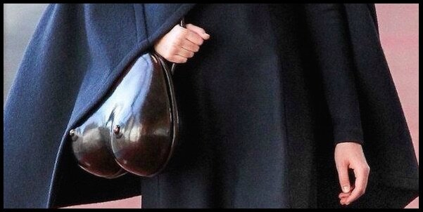 christophe lemaire boobs bag 1