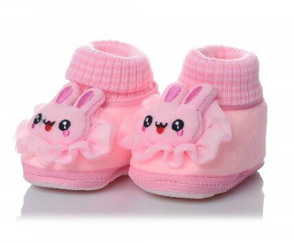 chaussons-chaussettes-bebe-modele-lapin