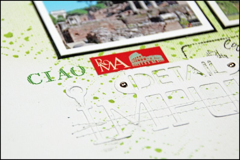 ciao Roma détail 1