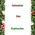 Tableau du calendrier de l'avent