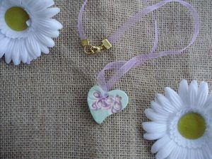 coeur vert violet 2