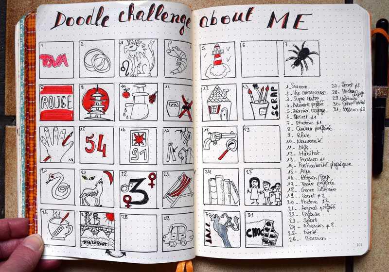 Doodles challenge Me