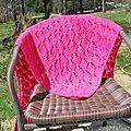 Châle tricot no.1