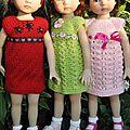 Tuto n° 97 - vous souvenez-vous de ces 3 premières petites robes ???