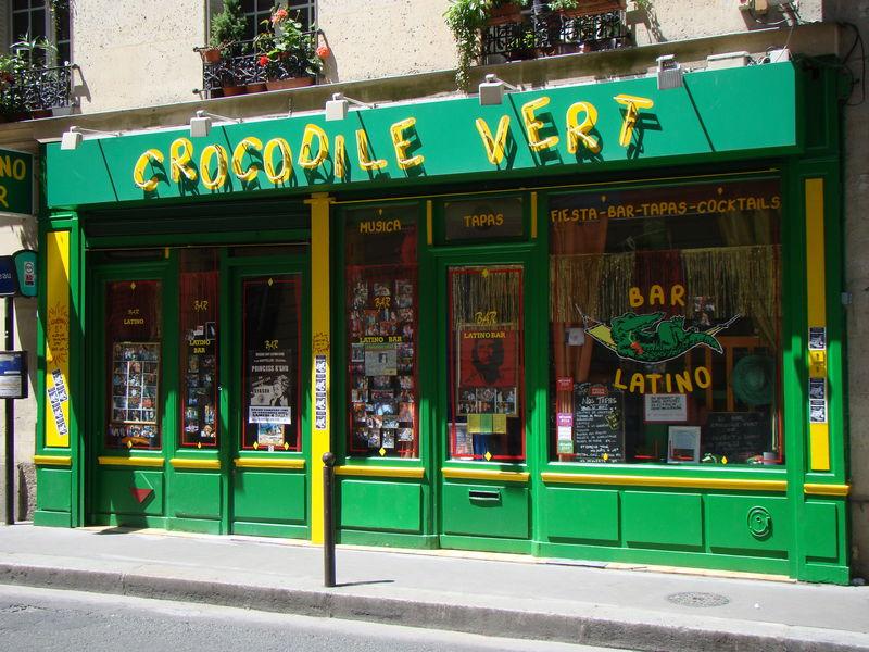 Le crocodile vert Paris 15e