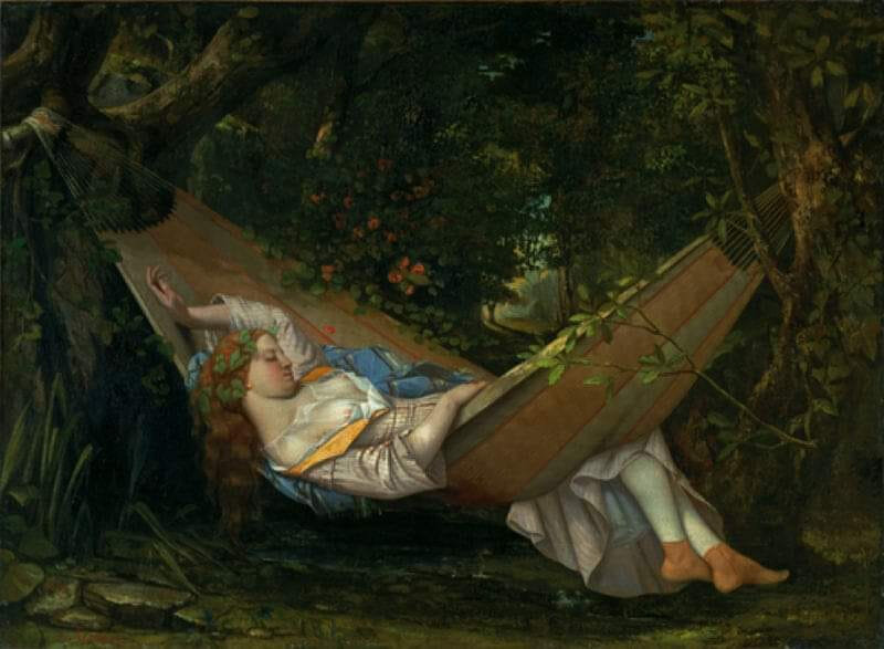 Le Rêve - Gustave Courbet