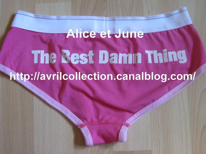 Culotte The Best Damn Thing