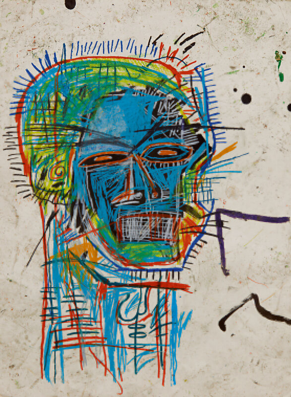 10370 Lot 103 - Jean-Michel Basquiat, Untitled (Head)