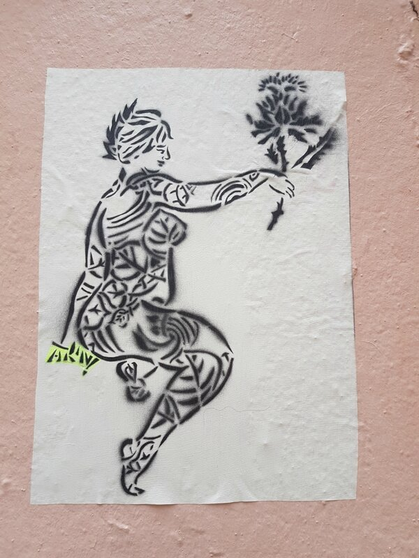 La minute streetart du mois d'avril : AK'N