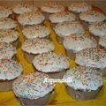 Muffins vanille pépites chocolat