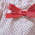 Culotte blanche à petites points rouge (3)