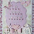 Carte d'amitié, et carte d'anniversaire...