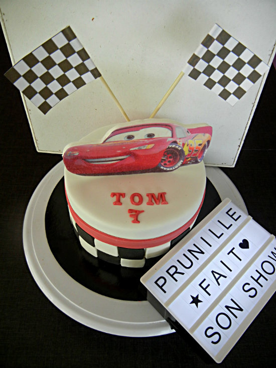 gateau cars prunillefee 2
