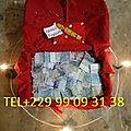 Comment fait une valise magique qui produit des billets de banque