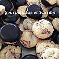 Mini cookies coque chocolat