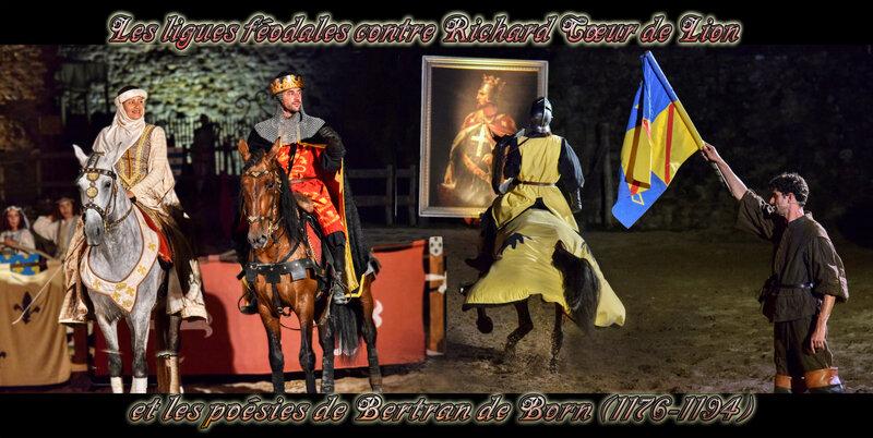 Les ligues féodales contre Richard Cœur de Lion et les poésies de Bertran de Born (1176-1194)