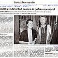 Lisieux: le spectacle de nicolas dubost met en valeur le
