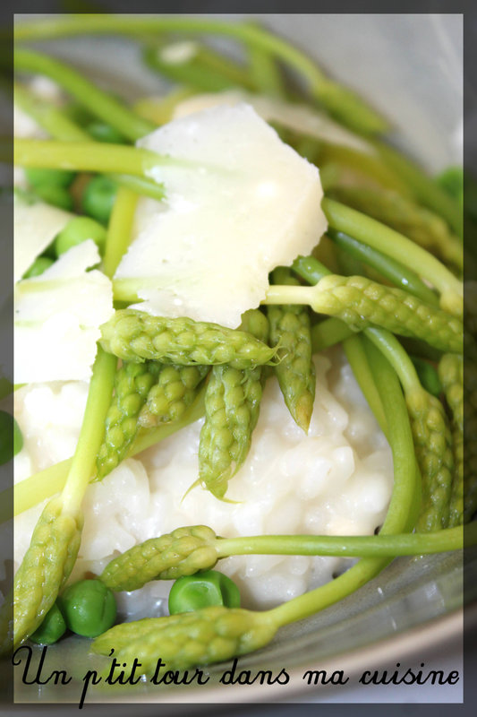 Risotto asperges sauvages2