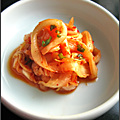 Salade « comme-kimchi »