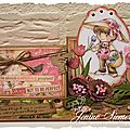 Card lift sur scrap'malices