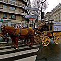 Instantané avenue de Saint-Ouen.