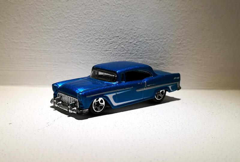 Chevrolet BelAir de 1955 (Hotwheels)