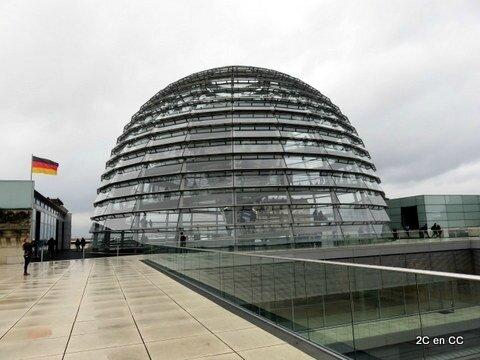 la Coupole et la terrasse -Reichstag - Berlin
