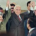 Discours d'abdelhamid mehri à l'occasion du 40ème jour du décès du président yasser arafat, le 25 décembre 2004