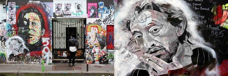 5-Mur hommage Gainsbourg