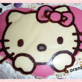 Hello-Kitty en chocolat